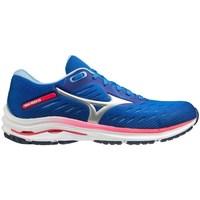 Schuhe Damen Laufschuhe Mizuno Wave Rider 24 Blau