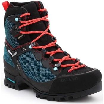 Schuhe Damen Wanderschuhe Salewa WS Raven 3 Gtx Schwarz, Grün