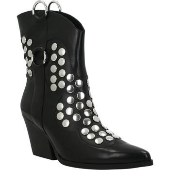 Schuhe Damen Low Boots Apepazza STUDS TORY Schwarz