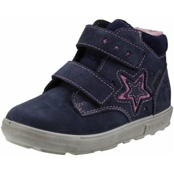 Schuhe Mädchen Schneestiefel Ricosta Klettstiefel ALEXIA Lammwolle Tex 2721400-172 blau