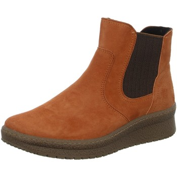 Schuhe Damen Boots Semler Stiefeletten SAMT-CHEVRO I65363042/048 orange