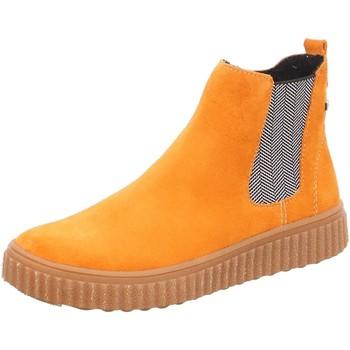Schuhe Mädchen Boots Salamander Stiefel NING 3313226-28 gelb