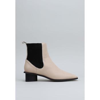 Schuhe Damen Low Boots Krack ABIGAIL Beige