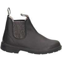 Schuhe Mädchen Boots Blundstone 2096 Beatles Kind SCHWARZES SILBER SCHWARZES SILBER