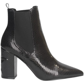 Schuhe Damen Low Boots Shop Art SA030045 Stiefeletten Frau SCHWARZ SCHWARZ
