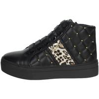 Schuhe Mädchen Sneaker High Asso AG-8603 Schwarz