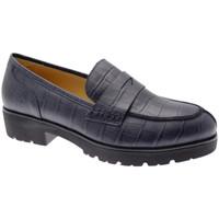 Schuhe Damen Slipper Donna Soft DOSODS0945blu blu