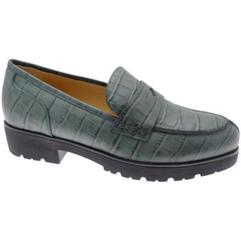 Schuhe Damen Slipper Donna Soft DOSODS0945ver verde