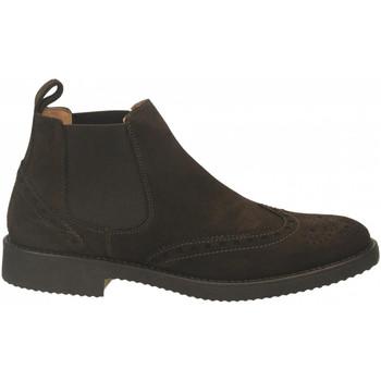 Schuhe Herren Boots Antica Cuoieria VELOUR testa-di-moro