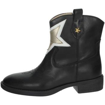 Schuhe Mädchen Boots Florens F8503 Schwarz/Gold