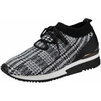 Schuhe Damen Sneaker Low La Strada Schnuerschuhe NV,black 1905767 BLACKWHITE grau
