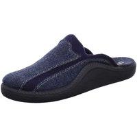 Schuhe Herren Hausschuhe Westland Monaco 246 20646-55-505 blau