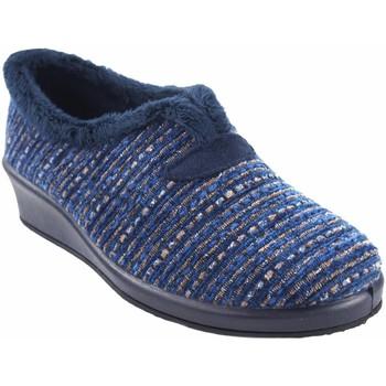 Schuhe Damen Hausschuhe Garzon Geh nach Hause Frau  1325.525 blau Blau