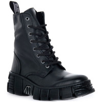 Schuhe Boots New Rock WALL ASA LUXOR NEGRO Nero