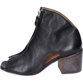 Schuhe Damen Low Boots Moma BK475 Schwarz