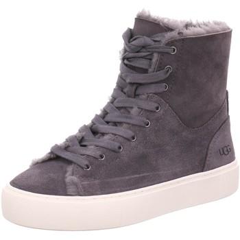 Schuhe Damen Schneestiefel UGG Stiefeletten 1104070 dark grey grau