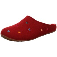 Schuhe Damen Hausschuhe Haflinger 484014-42 rot