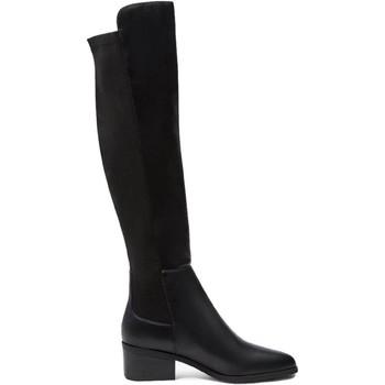 Schuhe Damen Klassische Stiefel Steve Madden SMSGRAPHITE-BLKL Stiefel Frau SCHWARZ SCHWARZ