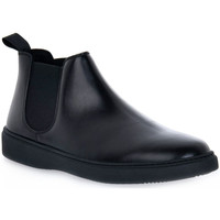 Schuhe Herren Boots Frau PONCHO NERO Nero