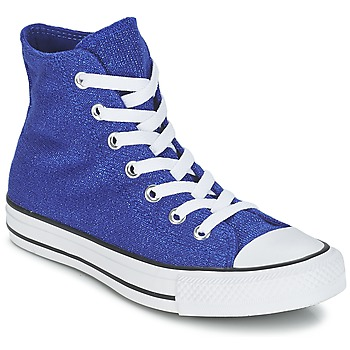 Schuhe Damen Sneaker High Converse CHUCK TAYLOR ALL STAR KNIT Blau / Roi