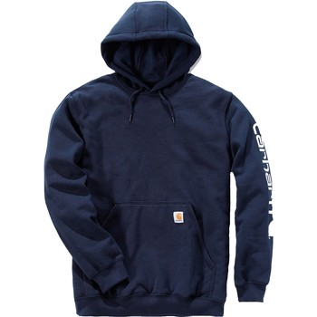 Kleidung Sweatshirts Carhartt Sweatshirt à capuche  Logo bleu marine