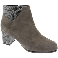 Schuhe Damen Ankle Boots Soffice Sogno SOSO20682tor tortora