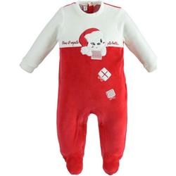 Kleidung Kinder Overalls / Latzhosen Ido 41173 Rot / Creme