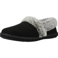 Schuhe Damen Hausschuhe Skechers COZY CAMPFIRE Schwarz