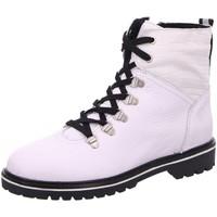 Schuhe Damen Boots Post Xchange Stiefeletten Blondy 360-1120 weiß