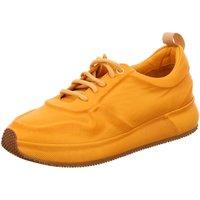 Schuhe Damen Sneaker Low Post Xchange Schnuerschuhe Fiona Fiona gelb