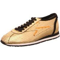 Schuhe Damen Sneaker Low Kennel + Schmenger Schnuerschuhe Strike 31.26200.755 gold