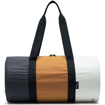 Taschen Reisetasche Herschel Day/Night Duffle Black/Buckthorn Brown/Overcast - Reflective