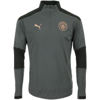 Kleidung Herren Trainingsjacken Puma Manchester City 1/4 Zip Top Grau