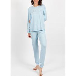 Kleidung Damen Pyjamas/ Nachthemden Admas Homewear-Pyjamahosen Schlaf- Blau