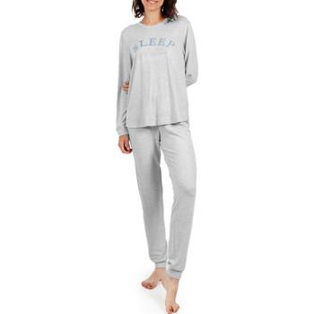 Kleidung Damen Pyjamas/ Nachthemden Admas Homewear-Pyjamahosen Schlaf- Hellgrau