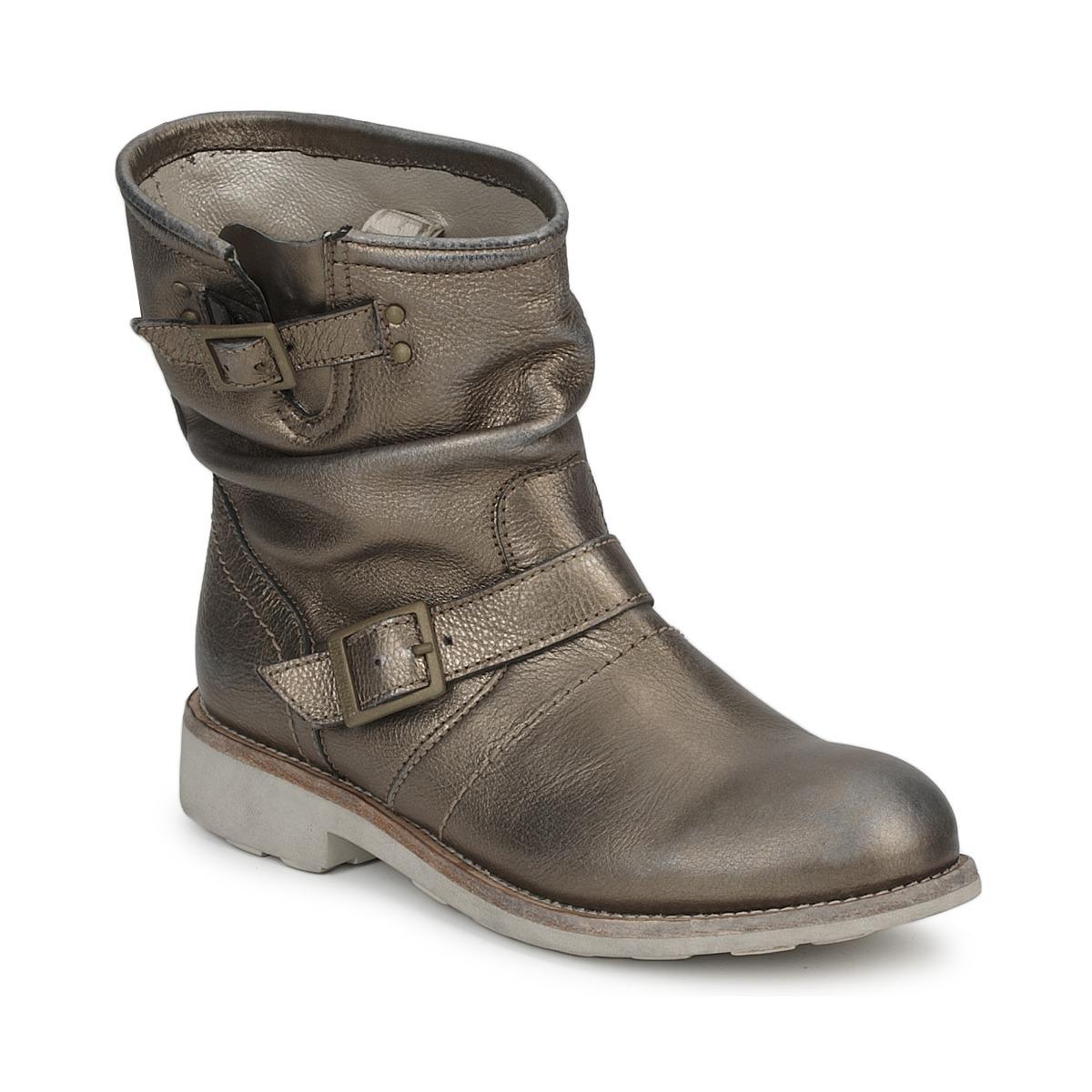 Bikkembergs VINTAGE 502 Grau - Kostenloser Versand bei Spartoode ! - Schuhe Boots Damen 144,50 €