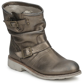Schuhe Damen Boots Bikkembergs VINTAGE 502 Grau