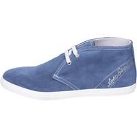 Schuhe Mädchen Low Boots NeroGiardini Stiefeletten Wildleder Blau