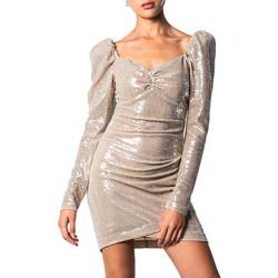 Kleidung Damen Kurze Kleider Aniye By 81707 Beige