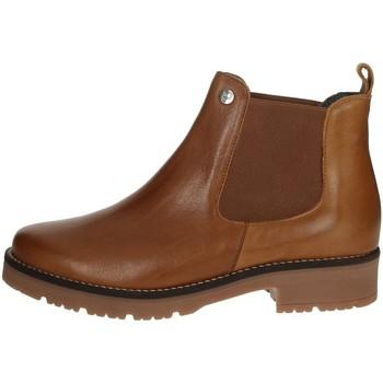 Schuhe Damen Boots Pitillos 6432 Braun Leder
