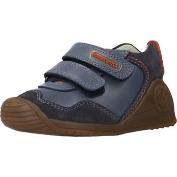 Schuhe Jungen Stiefel Biomecanics 201121 Blau