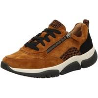 Schuhe Damen Sneaker Low Rollingsoft By Gabor Schnuerschuhe 56.938.32 32 braun