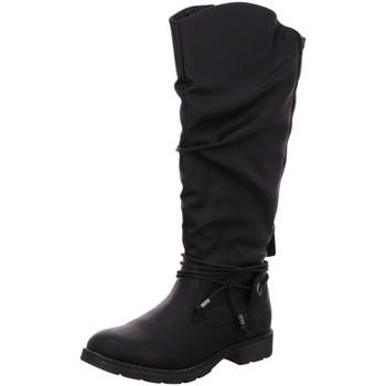 Schuhe Damen Klassische Stiefel Idana Stiefel 266441000/008 schwarz
