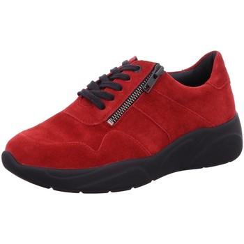 Schuhe Damen Sneaker Low Solidus Schnuerschuhe Kea - Weite K 66001 50264 rot