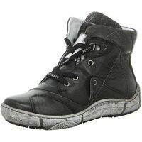Schuhe Damen Sneaker High Krisbut Stiefeletten 3188-1-4 schwarz