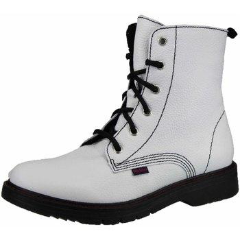 Schuhe Mädchen Boots Richter Schnuerstiefel Schnürboots 46728131-0100 weiß