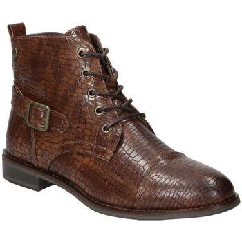 Schuhe Damen Low Boots D'angela BOTINES  DHO18092 MODA JOVEN MARRON Marron