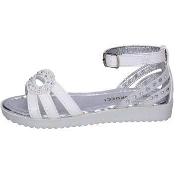 Schuhe Mädchen Sandalen / Sandaletten Fiorucci BK504 weiß