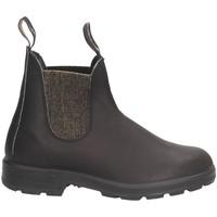 Schuhe Damen Boots Blundstone 2031 Beatles Frau schwarzes Gold schwarzes Gold