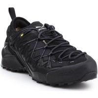 Schuhe Herren Wanderschuhe Salewa Trekkingschuhe  MS Wildfire Edge GTX 61375-0971 schwarz
